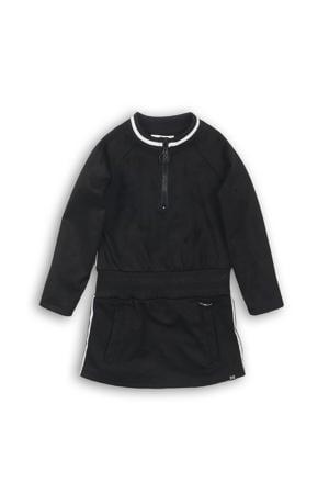 jurk zwart/wit