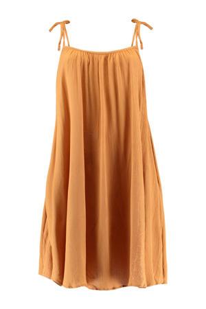 jurk Myla okergeel