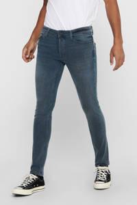 ONLY & SONS slim fit jeans grijsblauw, Grijsblauw