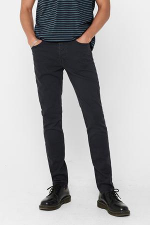 slim fit jeans grijsblauw