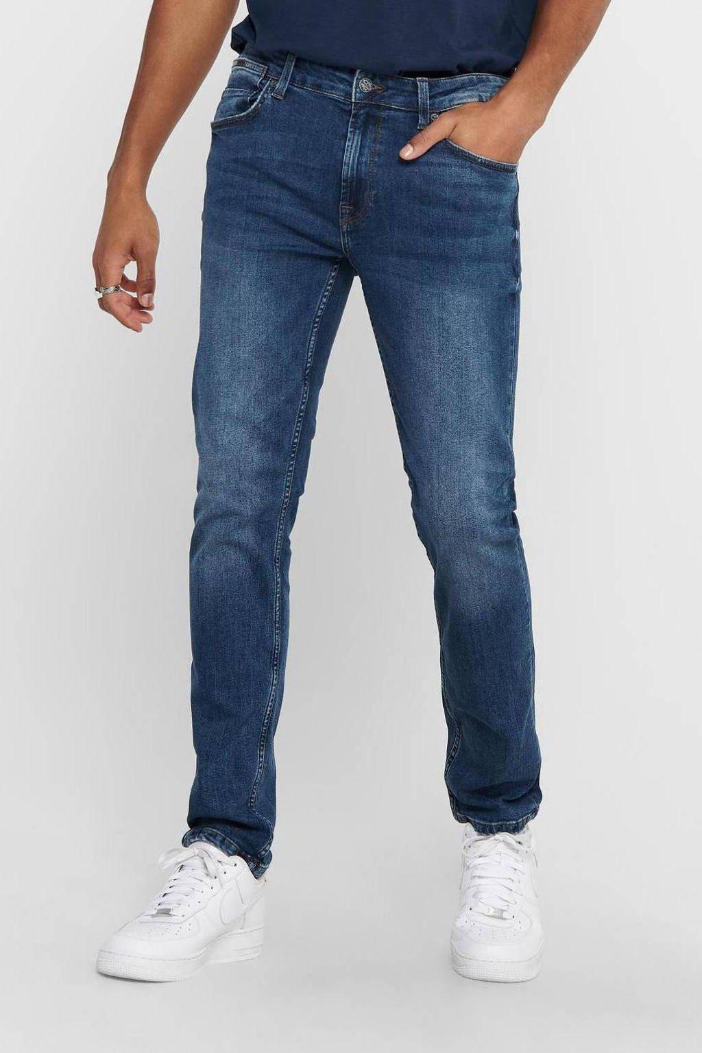 ONLY & SONS regular fit jeans Weft blue denim, Blue denim