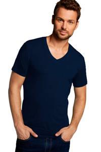 Bamboo Basics T-shirt Velo met bamboe (set van 2) donkerblauw, Donkerblauw