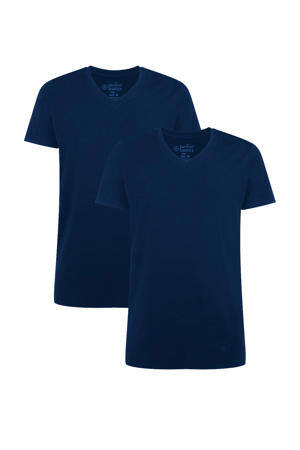 T-shirt Velo met bamboe (set van 2) donkerblauw