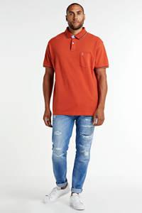 North 56°4 +size regular fit polo oranje, Oranje