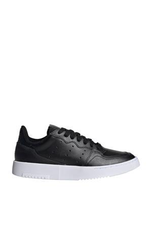 Supercourt J leren sneakers zwart