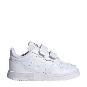 Supercourt C leren sneakers wit