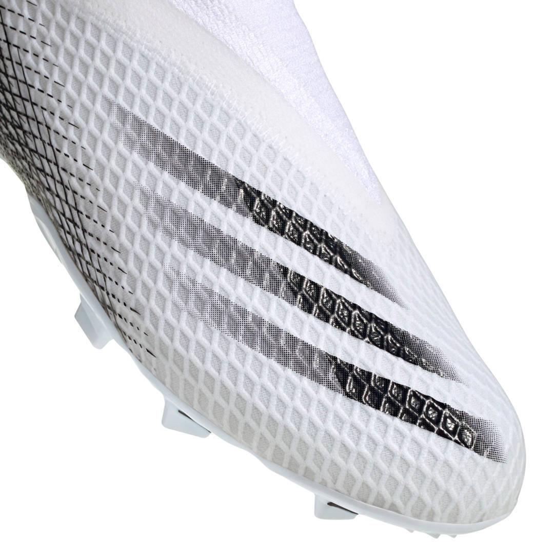adidas Performance X Ghosted.3 FG Jr. voetbalschoenen zwart