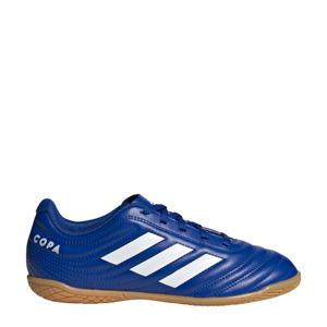 Copa 20.4 Indoor  Jr. zaalvoetbalschoenen kobaltblauw/wit