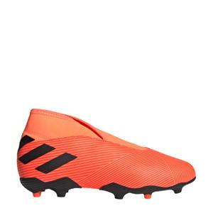 Nemeziz 19.3 LL FG J Jr. voetbalschoenen oranje/zwart