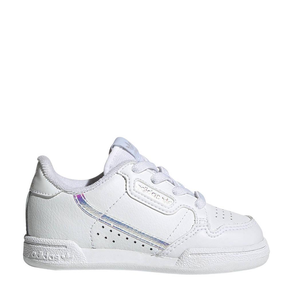 adidas Originals Continental 80 sneakers wit/zilver, Wit/zilver
