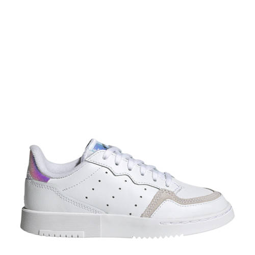 adidas Originals Supercourt C leren sneakers wit/g