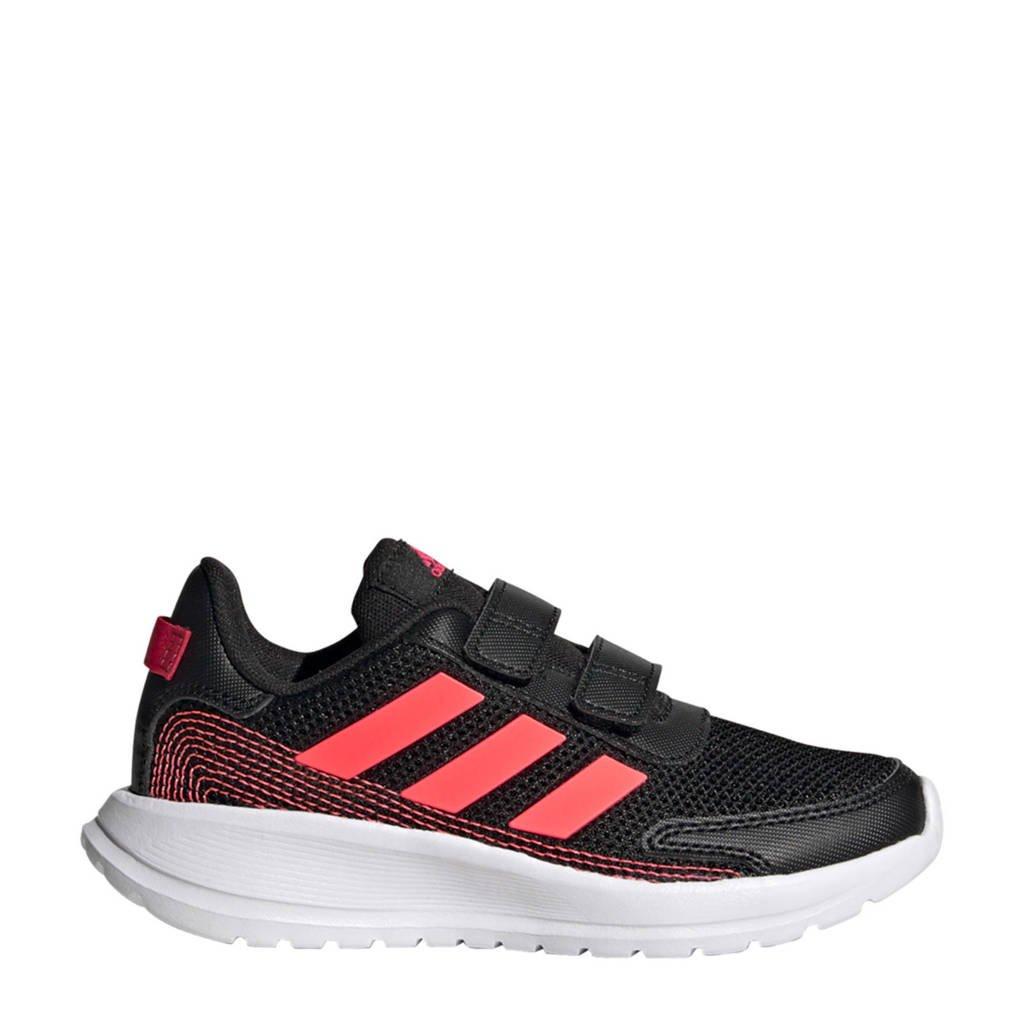 adidas Performance Tensaur Run C sportschoenen zwart/roze kids, Zwart/roze