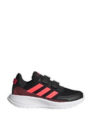 Tensaur Run C sportschoenen zwart/roze kids