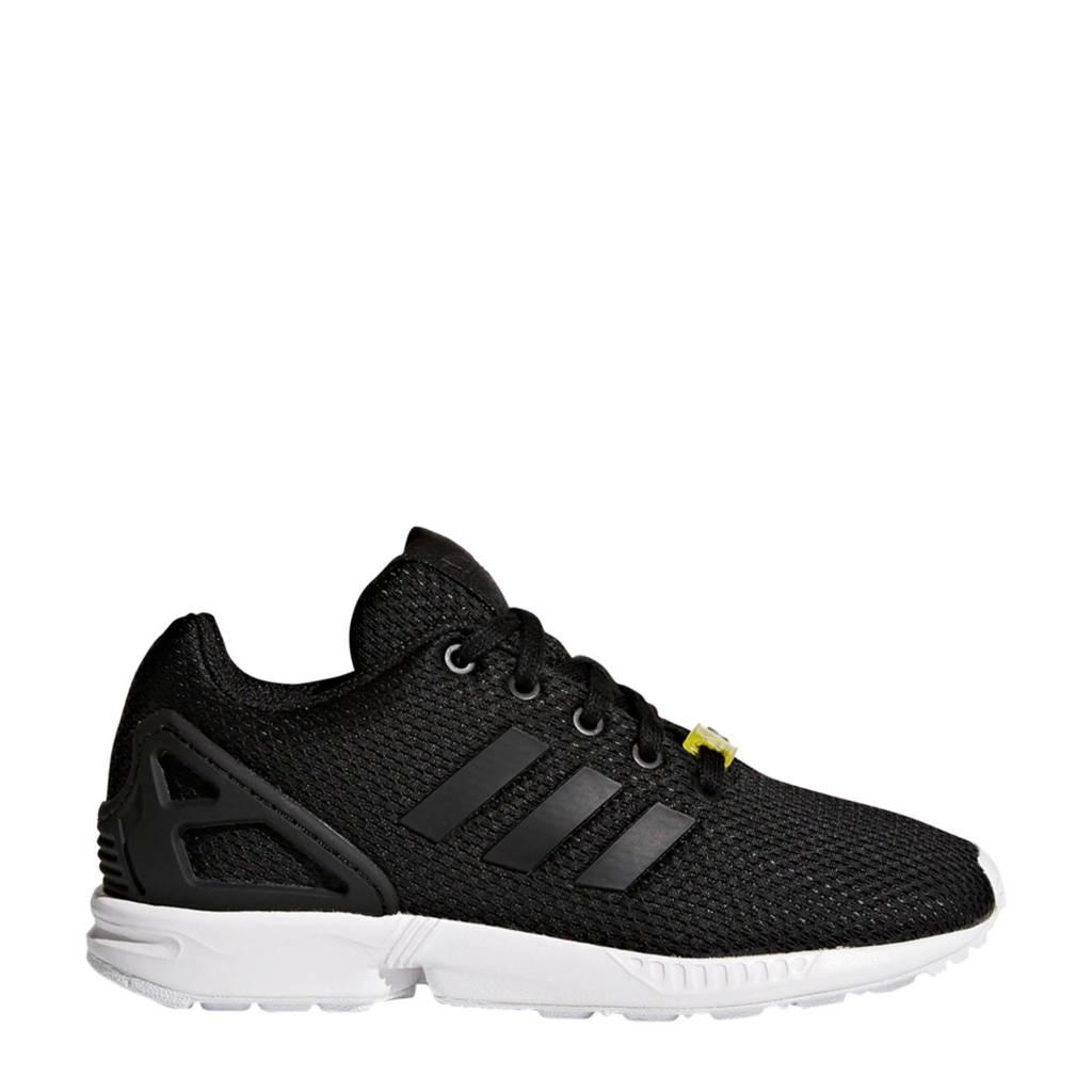 adidas Originals ZX Flux J sneakers zwart/wit, Zwart/wit
