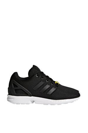 ZX Flux J sneakers zwart/wit