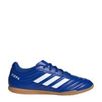 adidas Performance Copa 20.4 Indoor  Sr. zaalvoetbalschoenen kobaltblauw/wit, Kobaltblauw/wit