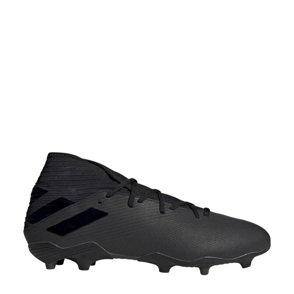 adidas Performance Nemeziz 19.3 FG Sr. voetbalschoenen zwart, Zwart