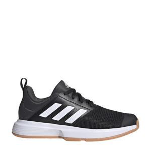 Essens M  zaalsportschoenen zwart/wit/grijs