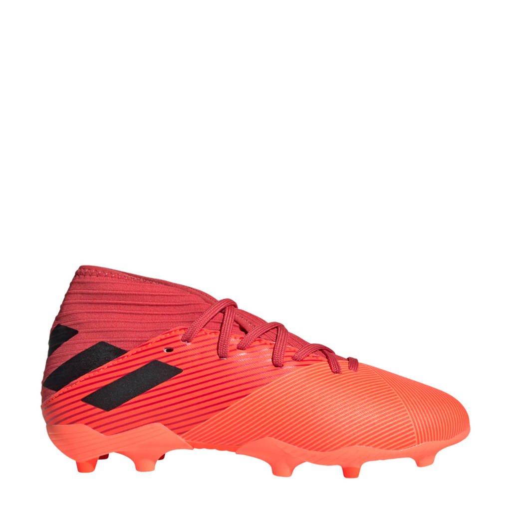 adidas Performance Nemeziz 19.3 FG Jr. voetbalschoenen oranje/zwart, Oranje/zwart