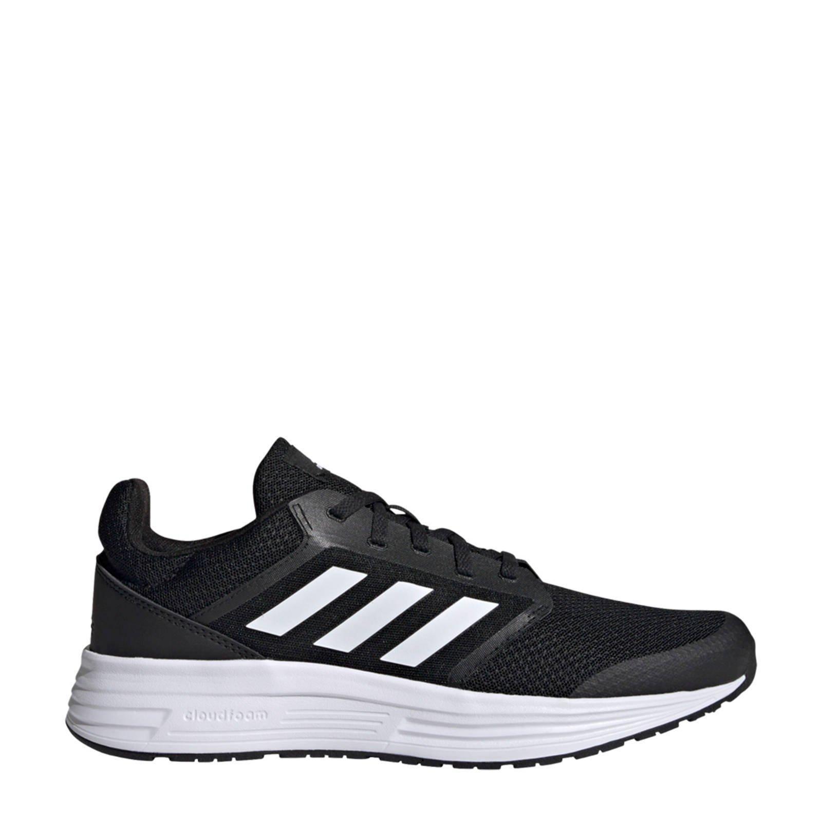 Adidas Performance Galaxy 5 hardloopschoenen zwart/wit online kopen