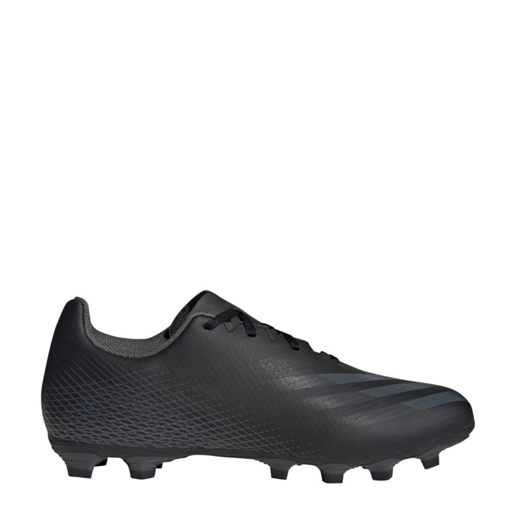 adidas Performance X Ghosted.4 .4 FG voetbalschoenen zwart, Zwart