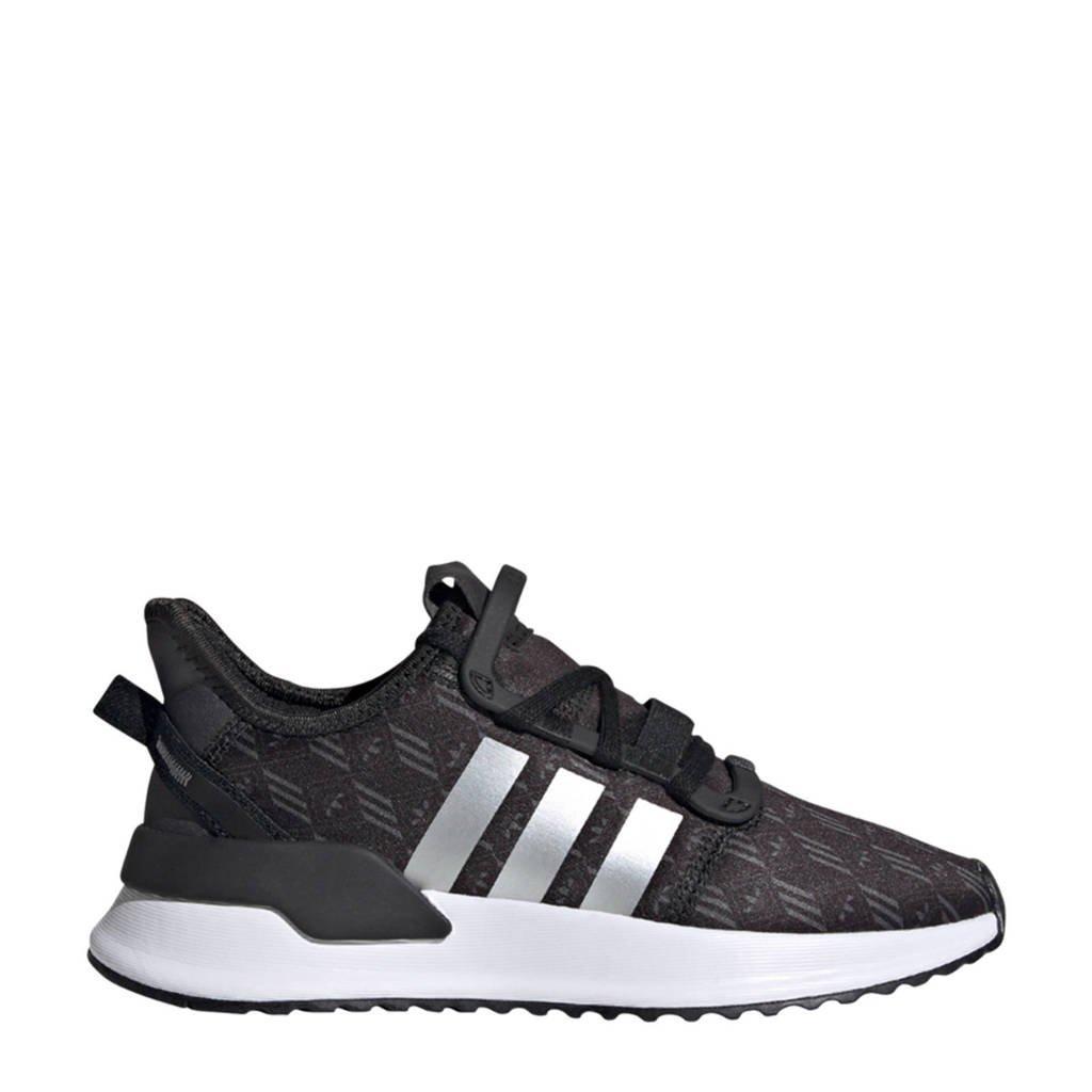 adidas Originals U_Path Run   sneakers zwart/wit/zilver, Zwart/wit/zilver