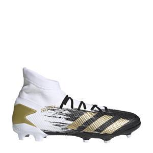 Predator 20.3 FG Sr. voetbalschoenen wit/goud/zwart