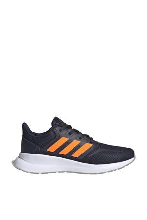 Run Falcon  hardloopschoenen donkerblauw/oranje kids