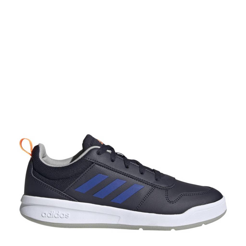 adidas Performance Tensaur K sportschoenen donkerblauw/kobaltblauw/oranje kids