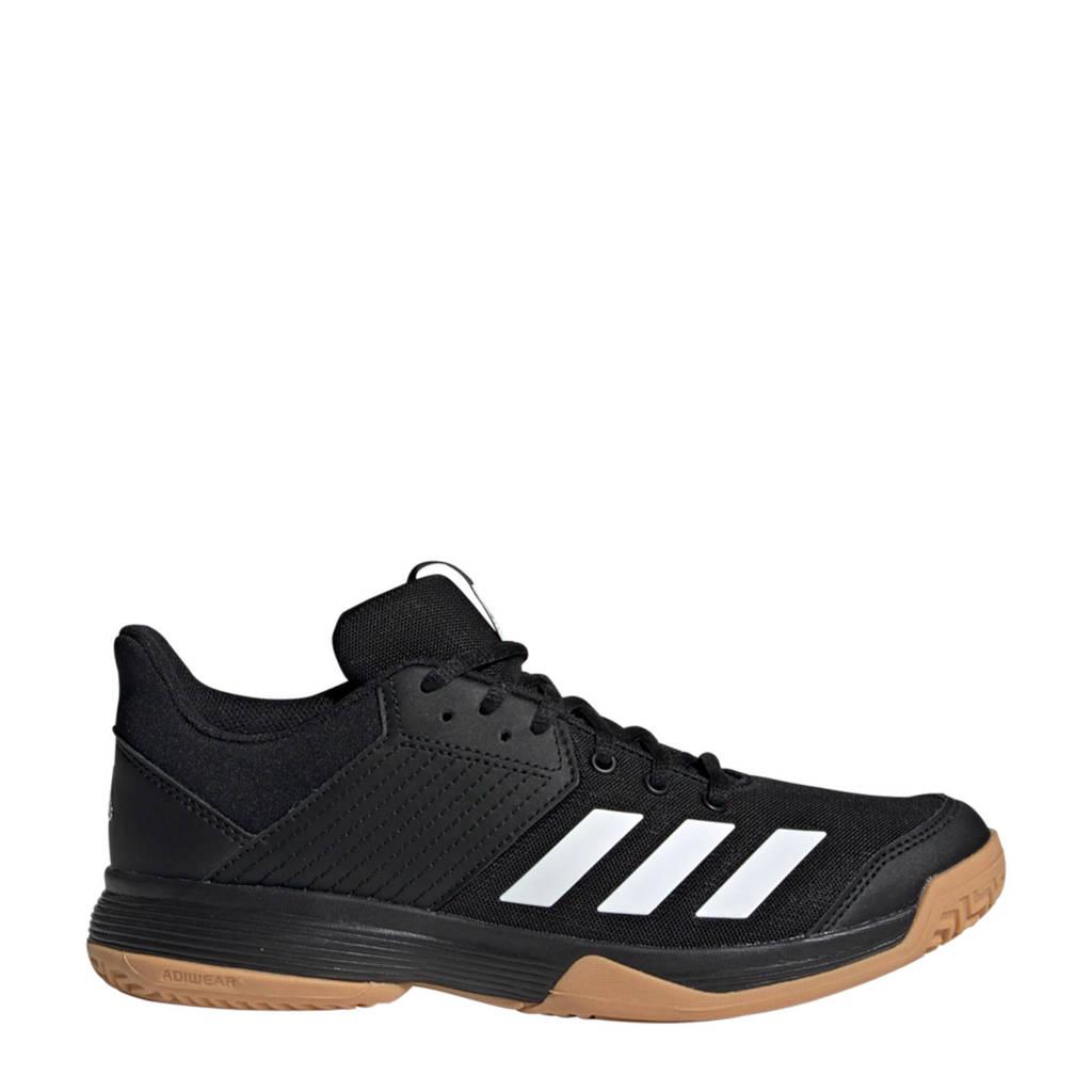 adidas Performance Ligra 6 zaalsportschoenen zwart/wit, Zwart/wit
