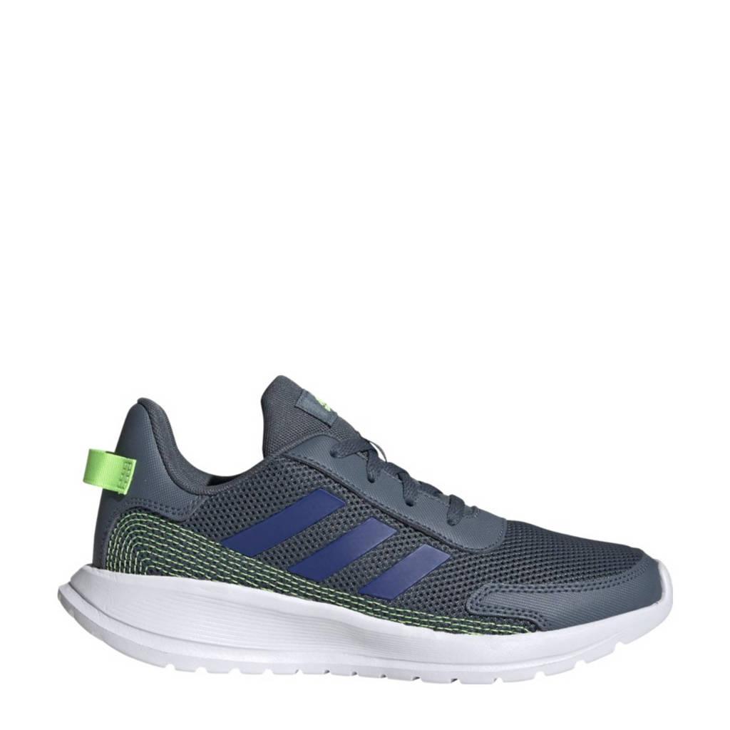 adidas Performance Tensaur Run K hardloopschoenen grijsblauw/kobaltblauw kids