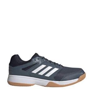 Speedcourt  zaalsportschoenen grijsblauw/wit