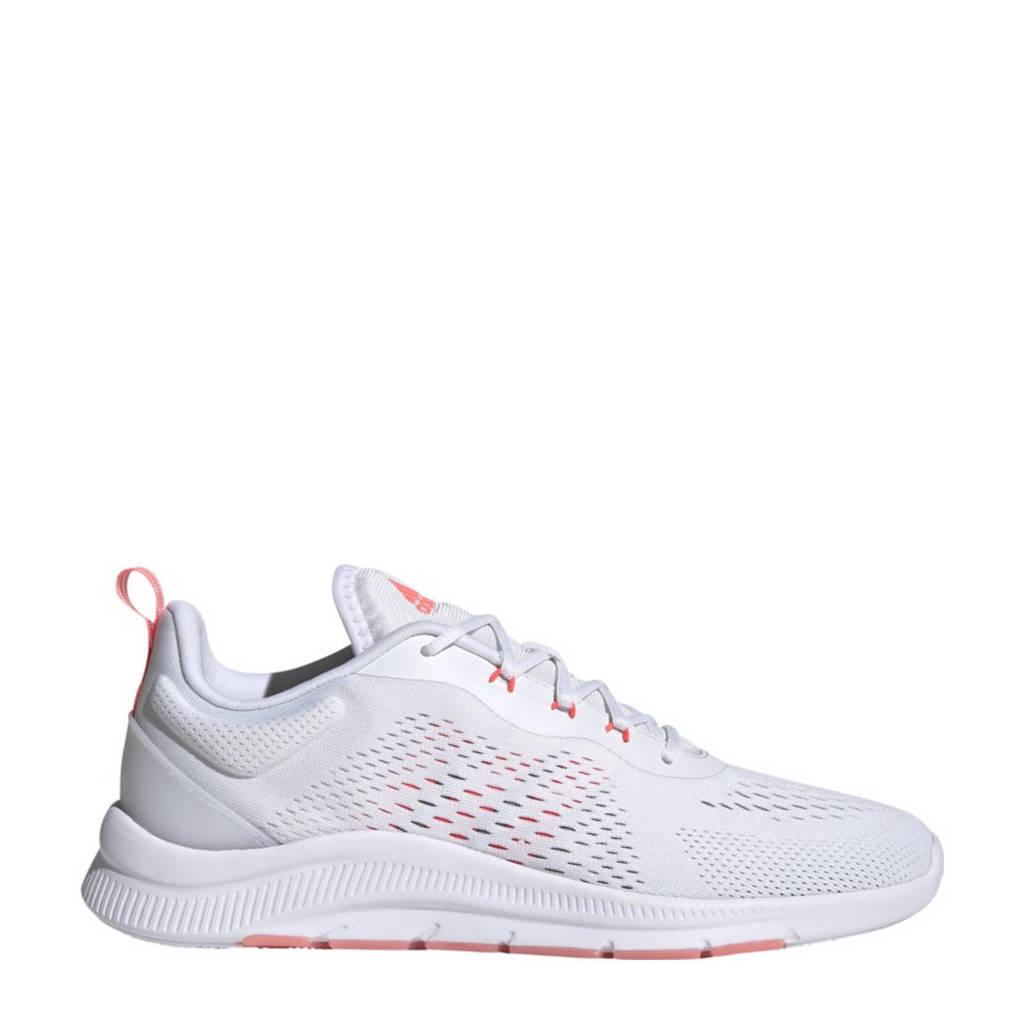 adidas Performance Novamotion  fitness schoenen wit/roze/grijs, Wit/roze/grijs