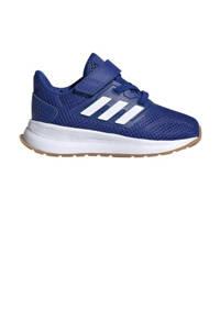 adidas Performance Run Falcon  hardloopschoenen blauw/wit kids, Blauw/wit
