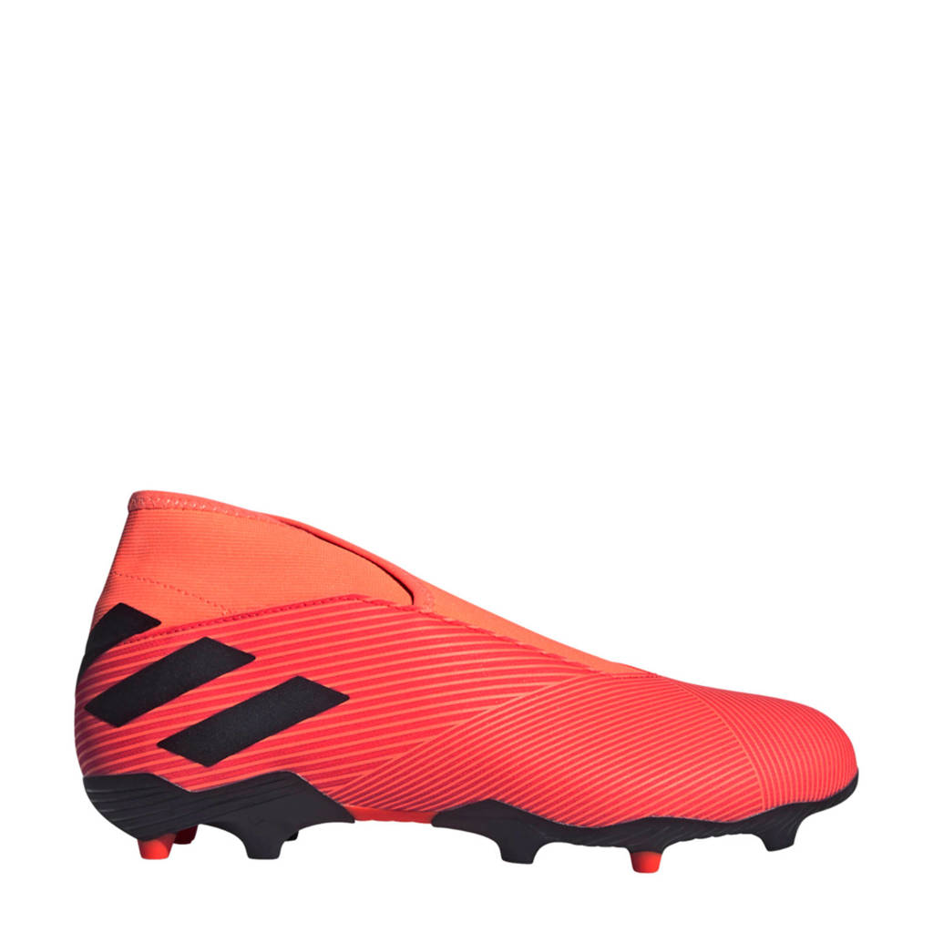 adidas Performance Nemeziz 19.4 LL FxG voetbalschoenen oranje/zwart, Oranje/zwart