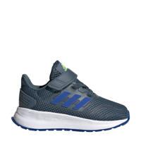 adidas Performance Run Falcon  sneakers grijsblauw/kobaltblauw