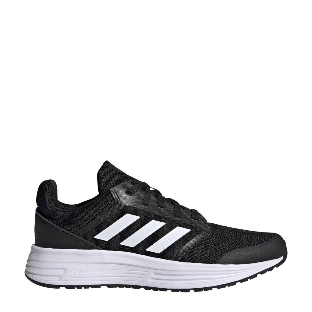 adidas Performance Galaxy 5 hardloopschoenen zwart/wit/grijs, Zwart/wit/grijs