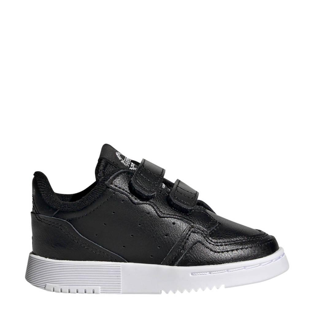 adidas Originals Supercourt C leren sneakers zwart, Zwart