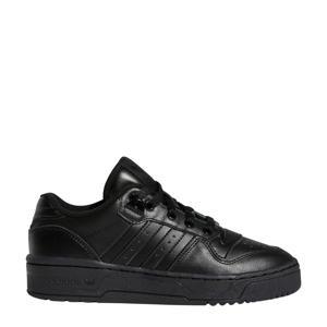 Rivalry Low J  leren sneakers zwart