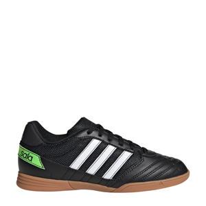 Super Sala  zaalvoetbalschoenen zwart/wit/groen