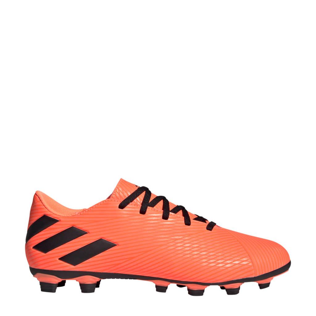 adidas Performance  Nemeziz 19.4 FxG Sr. voetbalschoenen oranje/zwart, Oranje/zwart