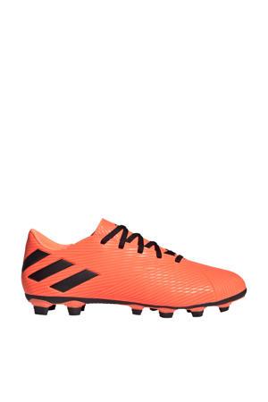 Nemeziz 19.4 FxG Sr. voetbalschoenen oranje/zwart