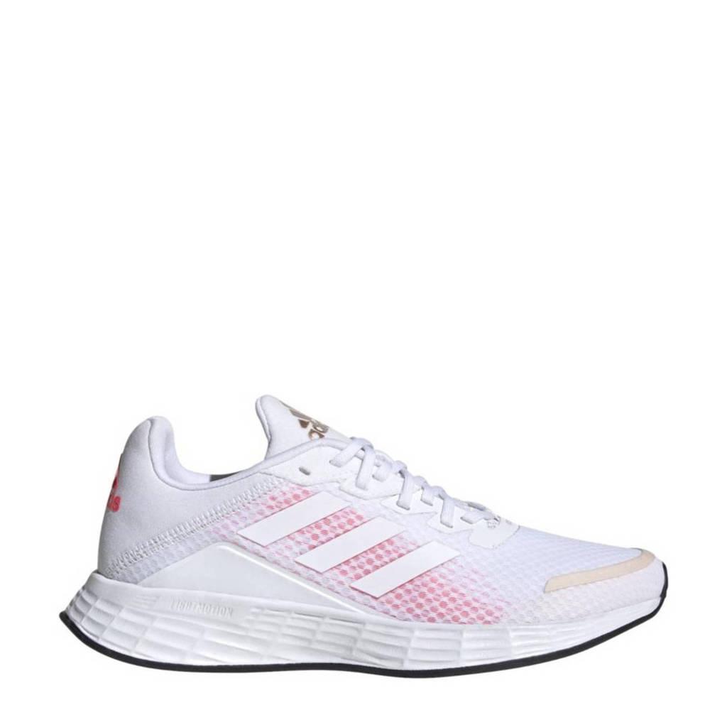 adidas Performance Duramo Sl Classic hardloopschoenen wit/roze, Wit/roze