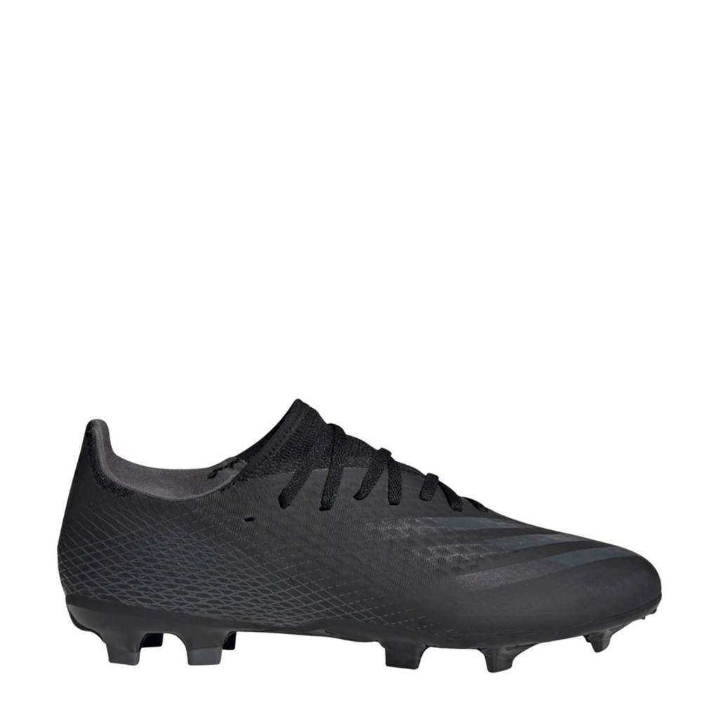 adidas Performance X Ghosted.3 .3 FG voetbalschoenen zwart/grijs, Zwart/grijs