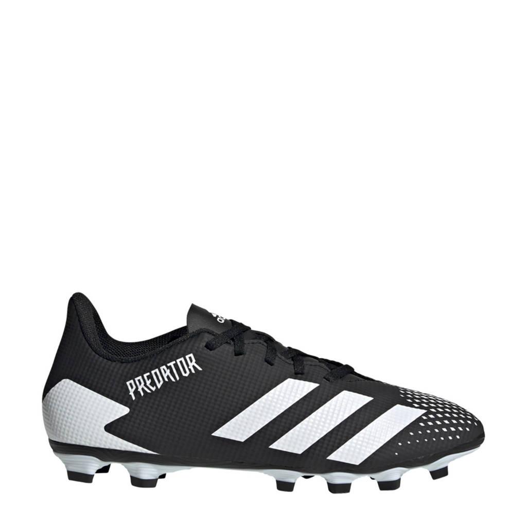 adidas Performance Predator 20.4 FxG Sr. voetbalschoenen zwart/wit, Zwart/wit