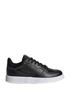 Supercourt C leren sneakers zwart