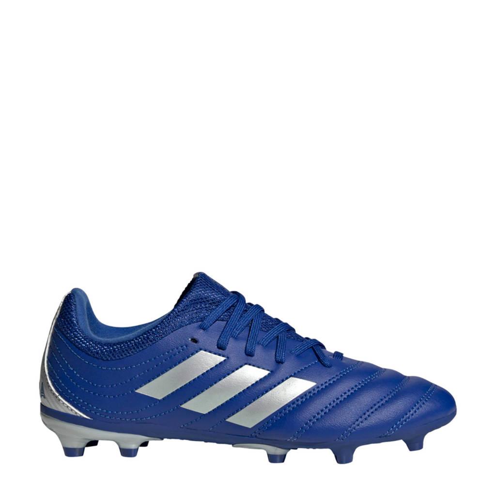 adidas Performance Copa 20.3 FG Jr. voetbalschoene kobaltblauw/zilver, Kobaltblauw/zilver