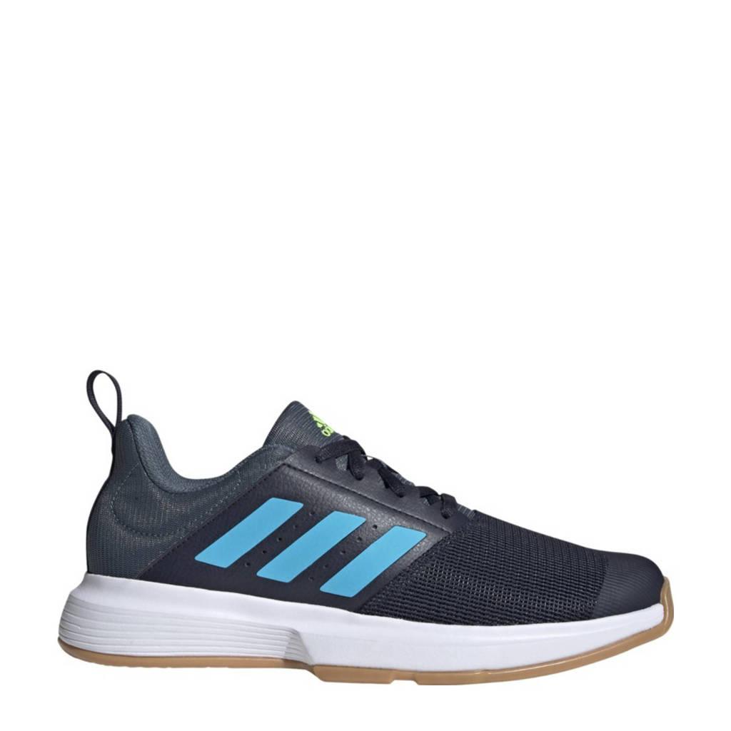 adidas Performance Essens M  zaalsportschoenen donkerblauw/kobaltblauw