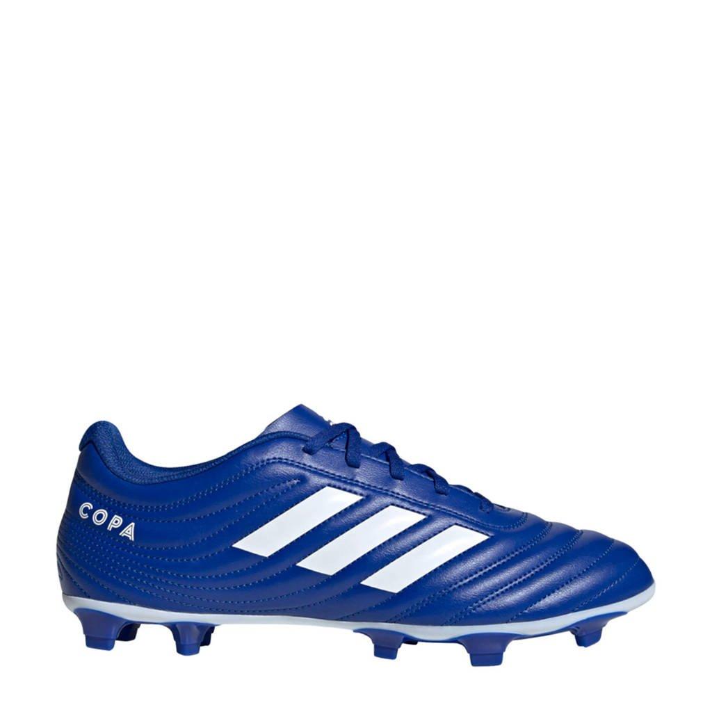 adidas Performance Copa 20.4 Firm Ground  voetbalschoenen kobaltblauw/wit, Kobaltblauw/wit
