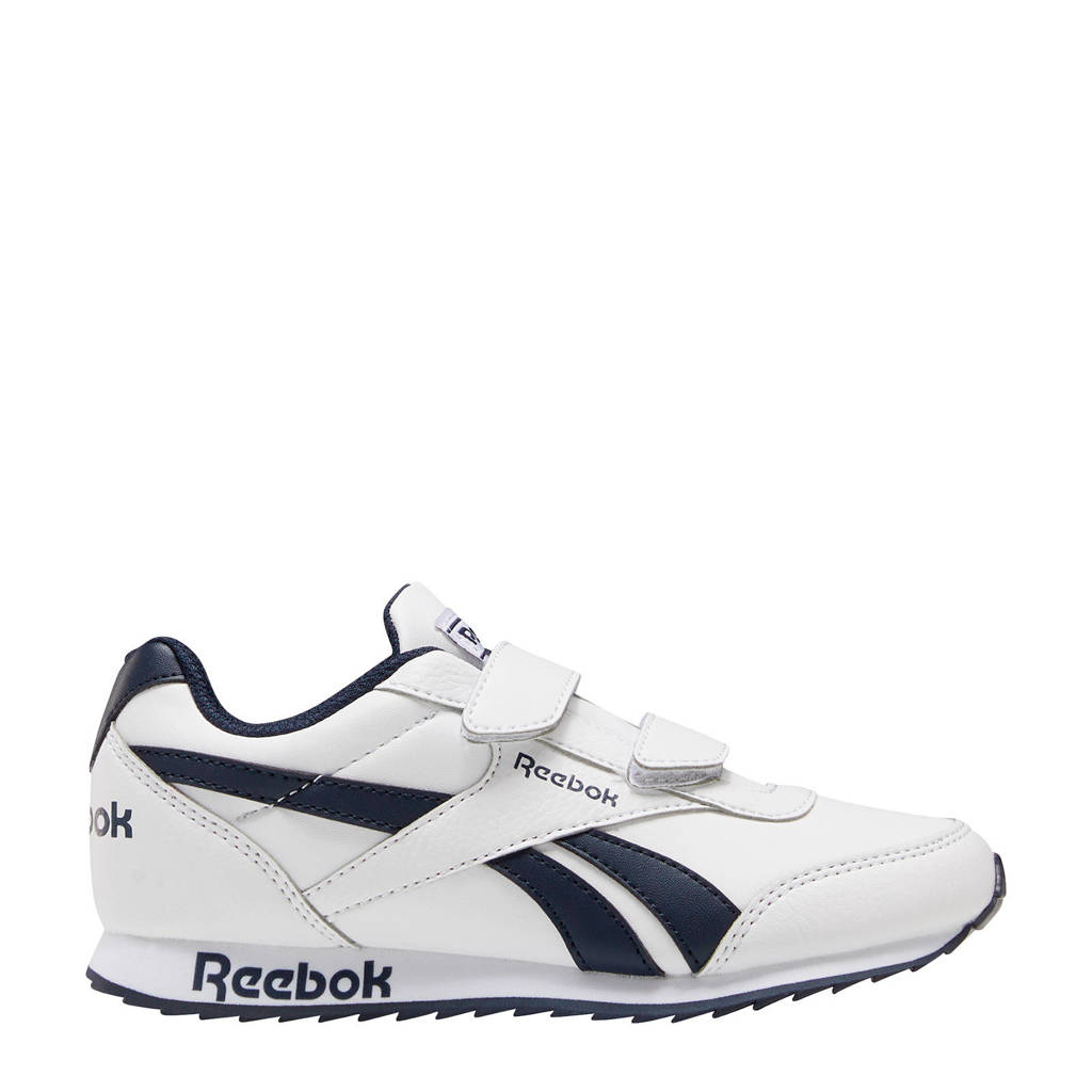 Reebok Classics Royal Classic Jogger 2.0  sneakers wit/donkerblauw, Wit/donkerblauw